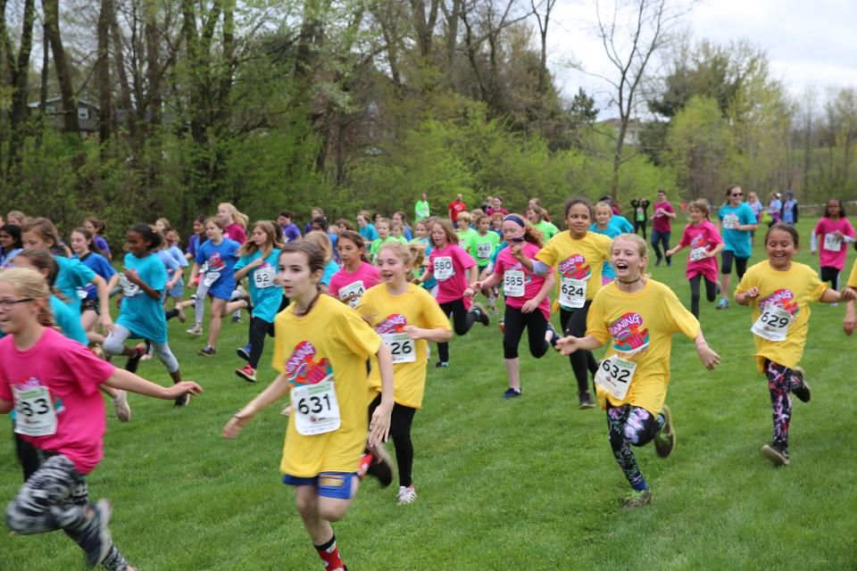 4th grade girls race