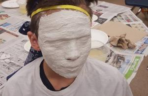 Fifth Grade Mask Project