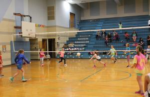 Staff and Student Volleyball