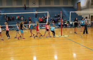 Students vs Staff volleyball