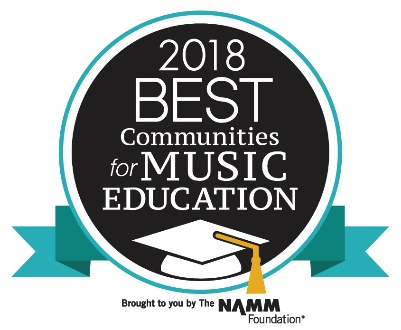 2018 Best Communities for Music Education